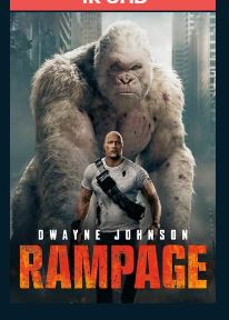 Rampage HDX UV Vudu or MA Redeem (Ports to Google Play iTunes Amazon FandangoNow)