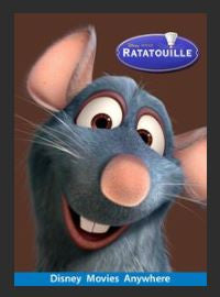 Ratatouille HDX Google Play Redeem (Ports to MA MoviesAnywhere) NO Points DMA