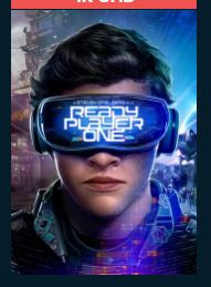 Ready Player One 4K UHD  Vudu or MA Redeem (Ports to iTunes Google Play and Amazon)