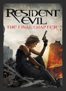 Resident Evil: The Final Chapter 4K UHD UV Vudu or MA Redeem (Ports to iTunes or Google Play)
