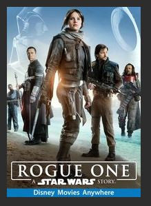 Rogue One: A Star Wars Story HD Google Play Redeem (Ports to MA MoviesAnywhere) NO Points Disney