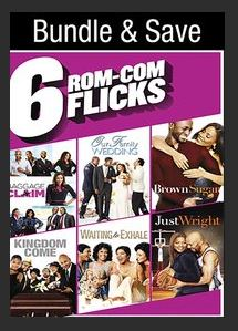 Rom-Com 6 Film Collection HDX UV or MA Redeem (Ports to iTunes Google Play Amazon)