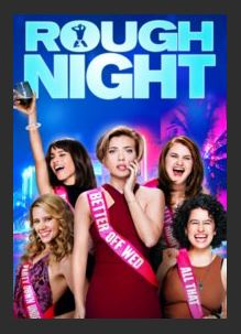 Rough Night 4K UHD UV Vudu Redeem (Ports to MA MoviesAnywhere)