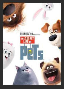 The Secret Life of Pets HDX UV *Vudu Redeem* (Ports to MA MoviesAnywhere)