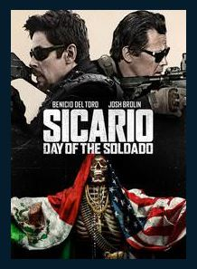 Sicario: Day of the Soldado HDX UV Vudu or MA Redeem (Ports to iTunes and Google Play)