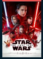 Star Wars: The Last Jedi HD iTunes Redeem (Ports to MA) NO Points DMA