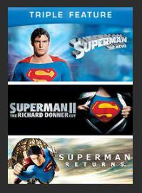 Superman Triple Feature HDX UV