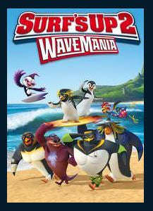 Surf's Up 2: WaveMania SD UV Vudu or MA Redeem (Ports to iTunes and Google Play)