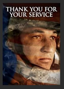 Thank You for Your Service HDX UV Vudu or MA Redeem (Ports to iTunes and Google Play)