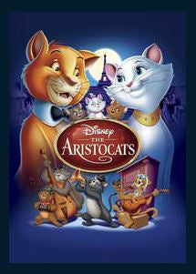 The Aristocats HDX DMA MA or Vudu Redeem (Ports to iTunes and Amazon) Disney