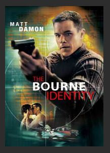 The Bourne Identity HDX MA or 4K UHD iTunes Redeem (Ports to Vudu and Google Play)