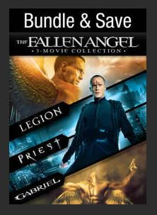 The Fallen Angel Collection 3-Movie Collection (Legion, Priest, Gabriel) SD UV Vudu Redeem (Ports to MA MoviesAnywhere)