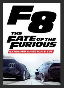 The Fate of the Furious (Extended Director's Cut) HDX UV Vudu Redeem (Ports to MA MoviesAnywhere)