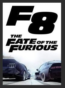 The Fate of the Furious HDX UV Vudu Redeem (Ports to MA MoviesAnywhere)