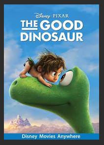 The Good Dinosaur HDX DMA MA or Vudu Redeem (Ports to iTunes)