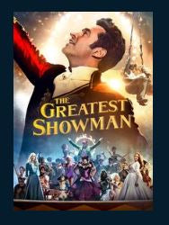 The Greatest Showman HDX UV Vudu or MA or Google Play Redeem (Ports to iTunes)