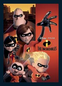 The Incredibles HDX DMA MA or Vudu Redeem (Ports to Vudu and iTunes)