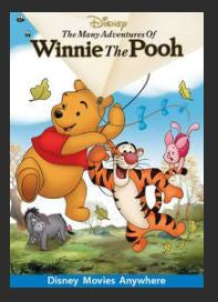 The Many Adventures of Winnie the Pooh HDX DMA MA (Ports to Vudu and iTunes)