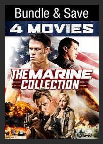 The Marine 4-Movie Collection SD UV Vudu Redeem (Ports to MA MoviesAnywhere) Bundle