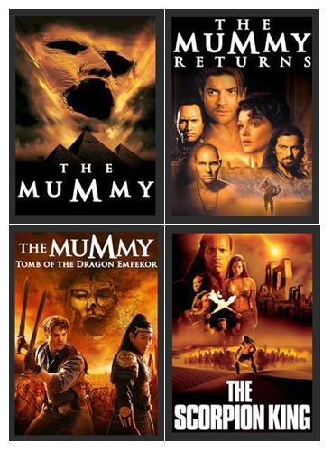 The Mummy Ultimate Collection HDX UV Vudu Redeem (Bundle) Vudu Redeem (Ports to MA MoviesAnywhere)