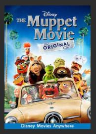 The Muppet Movie HDX DMA MA or Vudu Redeem (Ports to Vudu and iTunes)
