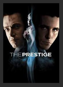 The Prestige 4K UHD DMA MA or Vudu Redeem (Ports to iTunes) ONLY 4K in Vudu Disney