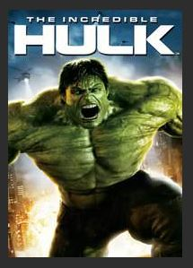 The Incredible Hulk HDX UV Vudu or MA Redeem (Ports to iTunes Vudu Google Play)