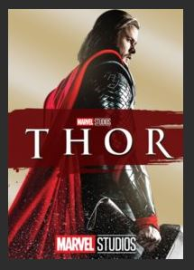Thor HDX DMA MA or Vudu Redeem (Ports to iTunes) Disney Marvel