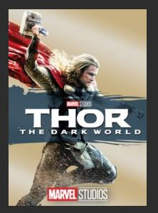 Thor: The Dark World HDX DMA MA or Vudu Redeem (Ports to Vudu and iTunes)