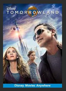 Tomorrowland HDX DMA MA or Vudu Redeem (Ports to Vudu or iTunes)