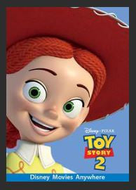 Toy Story 2 HDX Google Play Redeem (Ports to MA MoviesAnywhere) No Points Disney