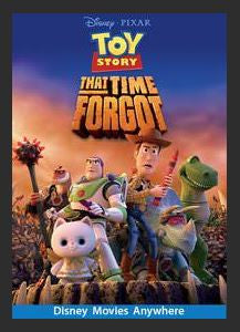Toy Story That Time Forgot HDX DMA MA or Vudu Redeem (Ports to Vudu and iTunes)