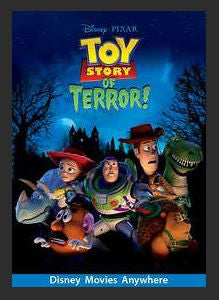 Toy Story of Terror! HDX DMA MA or Vudu Redeem (Ports to Vudu and iTunes)