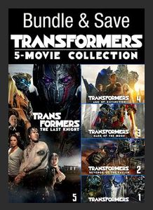Transformers 5-Movie Collection HDX UV *Vudu Redeem*