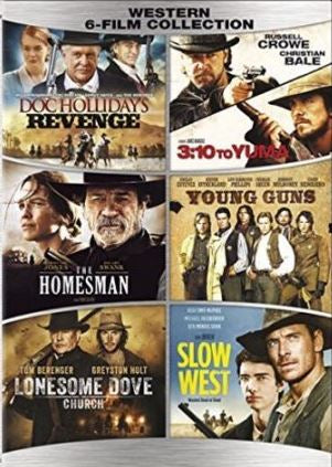 6 Film Collection - Westerns [Young Guns, Slow West, The Homesman] SD UV *Vudu Redeem*