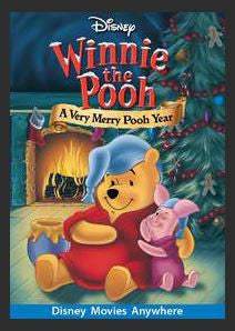 Winnie the Pooh: A Very Merry Pooh Year HDX DMA MA or Vudu Redeem (Ports to iTunes)