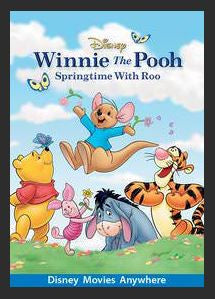 Winnie the Pooh: Springtime with Roo HDX Google Play Redeem (Ports to MA MoviesAnywhere) No Points Disney