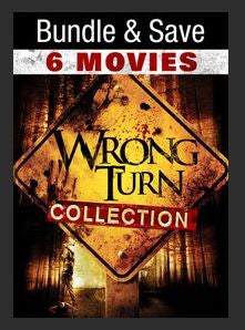 Wrong Turn 1-6 Bundle 6 Film Collection HDX UV or MA (Ports to MA MoviesAnywhere iTunes Google Play Amazon)