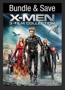 X-Men 3-Film Collection (X-Men, X2 X-Men United, X-Men The Last Stand) HDX UV *Vudu Redeem* (Ports UV and MA)