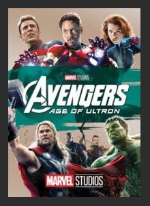Avengers: Age of Ultron HDX Google Play Redeem (Ports MA) NO Points Disney