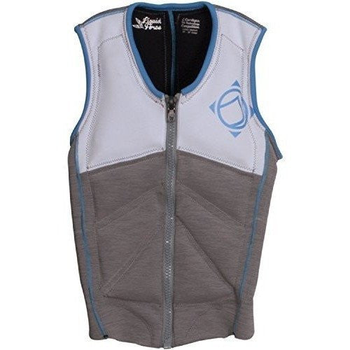 Liquid Force Z-Cardigan Womens Comp Grey/White - Wakeboss