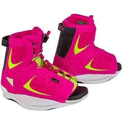 Ronix Luxe Wakeboard Boots Flamingo Highlighter Womens - Wakeboss