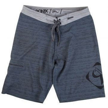 Ronix Barcode Tight & Right (Grey/Black) Boardshorts - Wakeboss