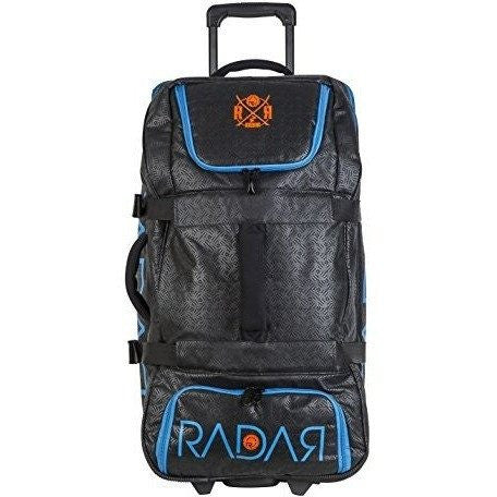 Radar Travel Luggage - Black/Daytona Blue/Buoy Orange - 2016 - Wakeboss