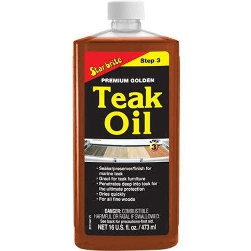 Premium Teak Oil 16 oz - Wakeboss