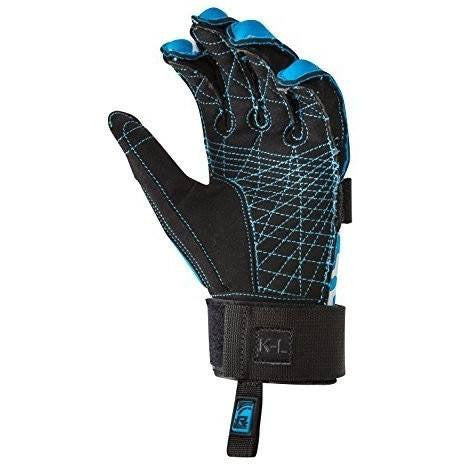 Radar Total Radar Awesomeness Boys Gloves Blue/White (2017)-BLUE/WHITE-md - Wakeboss