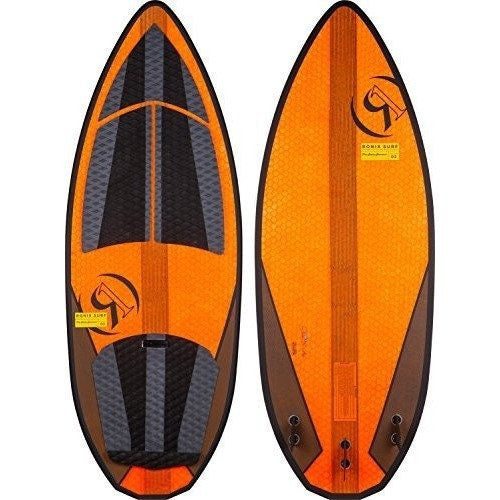 Ronix 2017 Hex Shell Skate Skimmer 2 (Orange) Wakesurfer - Wakeboss