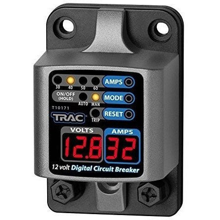 Trac Outdoor T10171 12V Digital Circuit Breaker with Display - Wakeboss