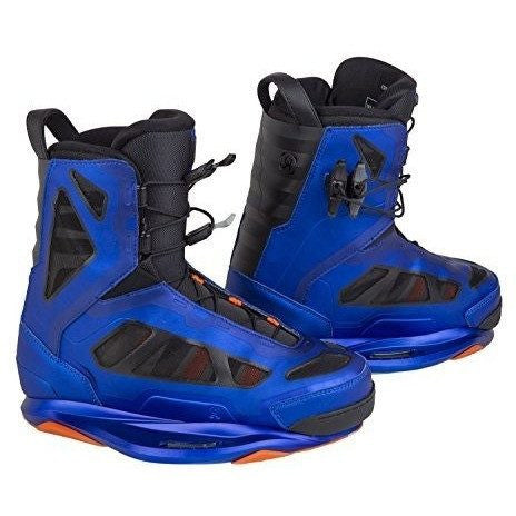 Ronix Parks Wakeboard Boots Anodized Ocean Mens - Wakeboss