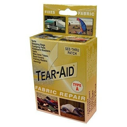Tear-Aid Fabric Repair Kit, Gold Box Type A - Wakeboss